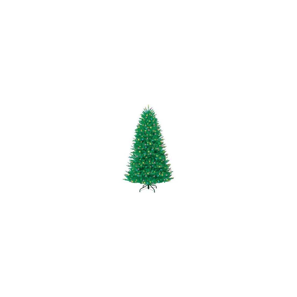 Ge Prelit Fir Christmas Tree Multi Colored Lights Fir 500 Lights Pvc 7