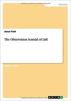 Book The Observation Scandal of Lidl