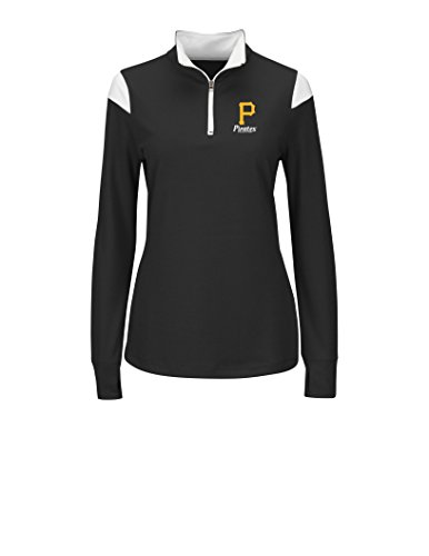 VF LSG MLB Pittsburgh Pirates Women's L5R Fashion Tops, Black/White, Medium (Pittsburgh Pirate Apparel)