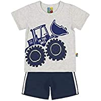 Conjunto Infantil Bee Loop Camiseta e Bermuda