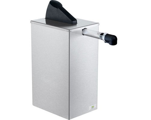 Server Products SE-SS-07125 Countertop Express Pouched Condiment Dispenser, Shroud, Black/Stainless Steel (Pump Server Express)