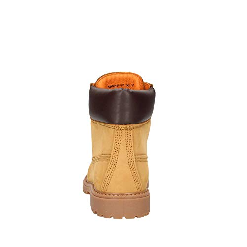 Donna Lumberjack M0001 Stivaletti River Giallo q67xHCBwa
