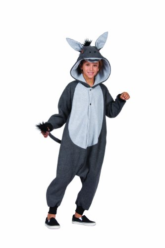 RG Costumes 'Funsies' 100 Acre Donkey Costume, Gray, Large]()