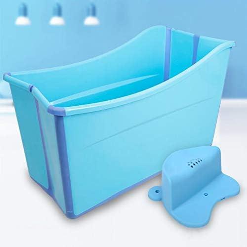 大人折りたたみバスタブ大きなバスタブ小盆地折り畳み式のバスタブ (Color : Blue)