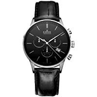Edox Les Vauberts Chronograph Men's Watch (10408-3N-NIN)