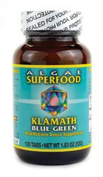 Klamath Blue Green Algae Superfood 130 Tabs