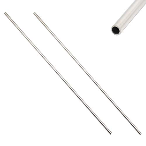 CynKen 1pcs OD 1mm x 0.5mm ID Stainless Pipe 304 Stainless Steel Capillary Tube Length 800mm