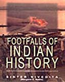Front cover for the book Footfalls of Indian History by Sister Nivedita