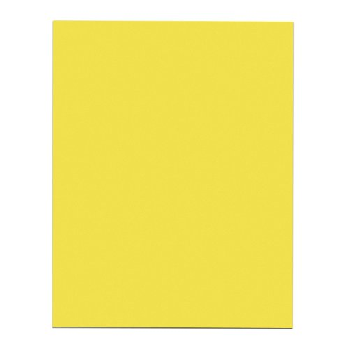 Roaring Spring Paper Yellow Poster Board, 22 x 28 Inches ...