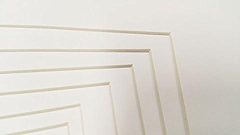 Poster Palooza Canvas Linen Texture Photo Mat Fits 5x7 Frame Burgandy 5x7 for 4x6 Photos