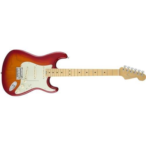 Fender American Elite Stratocaster   Aged Cherry Sunburst