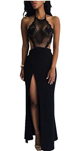 Buy long tight dress with split - 8