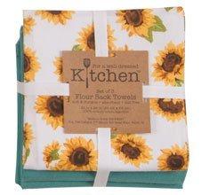Kay Dee Designs Sunflower Fields Collection (Floursack Towel 3pc Set)