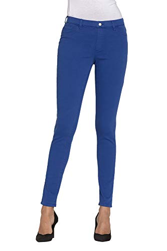Para Xxl Tejido Extensible Liso Color Mujer Jeggings Es Jeans Carrera pEwqF7q