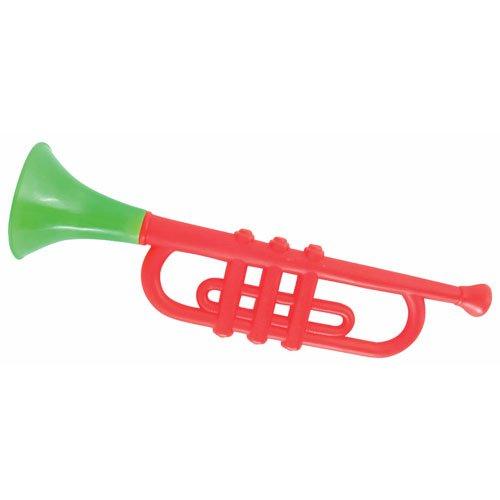 P'tit Clown 78700 Trompette en Plastique - 33 cm - Multicolore P'TIT CLOWN