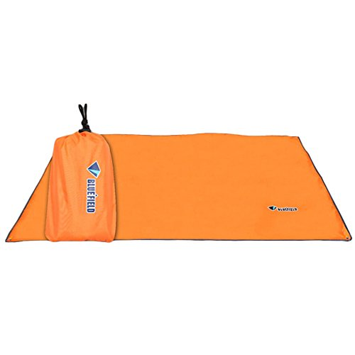 Od-sports 59x86 inch Backing Insulating Insulation Camping Mat Blanket Cushion Pad for Camping Hiking(Orange)