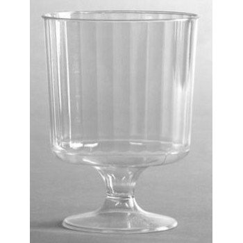 (Classic Crystal Stemware, 8 oz, Cold, Clear, Pedestal Wine Glass, 240/Carton)
