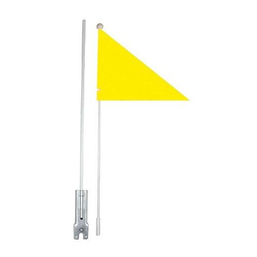 RMS Bander/ín infantil de seguridad color amarillo fluorescente para bicicleta