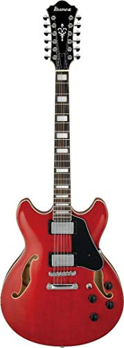 Ibanez Artcore AS7312 Semi-hollow 12-string - Transparent Cherry Red