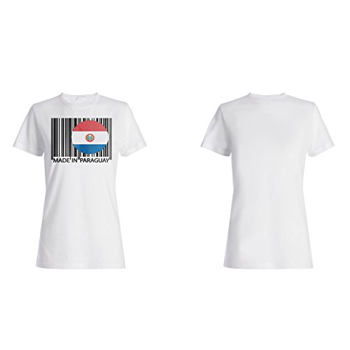 Gemacht in paraguay Reise Welt lustige Neuheit Damen T-shirt uu22f