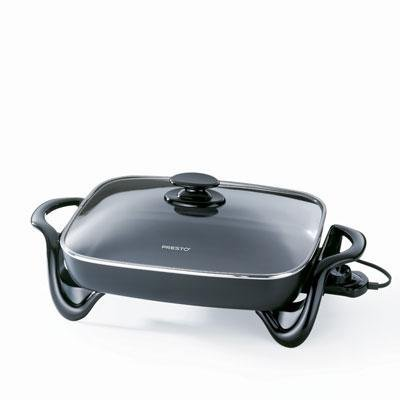 16 Electric Skillet w/glass