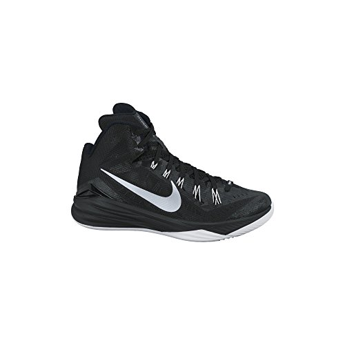 official photos d7e5c 9addc Women u0027s Nike Nike Hyperdunk 2014 Basketball Shoe Black White Metallic  Silver Size
