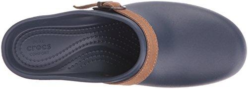 navy Crocs Mujer Zuecos Clog Azul Sarah Para qrYqw6C