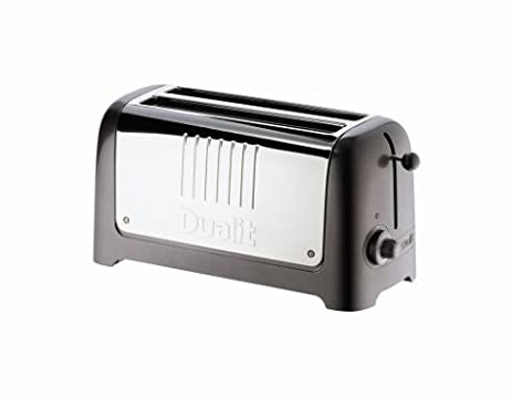 Amazon Dualit Lite 4 Slice Toaster Soft Touch Black