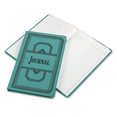 (Wholesale CASE of 10 - Esselte 66 Series Canvas Journal Books-Account Book, Journal-Ruled, 300 Pages, 12-1/8