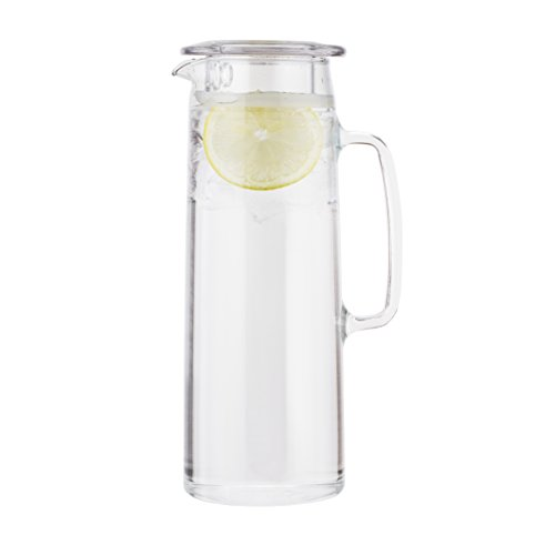 Bodum 11575-10S Biasca Ice Green Tea Jug, Clear, 1.2 Litre, 40 oz(10 x 14 x 27 cm)