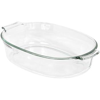 Pyrex 2-Quart Oval Glass Bakeware Dish