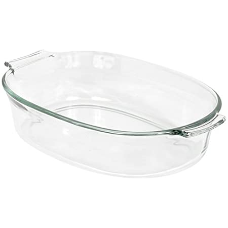 Pyrex Bakeware 2-Quart Oval Roaster Cookware at amazon