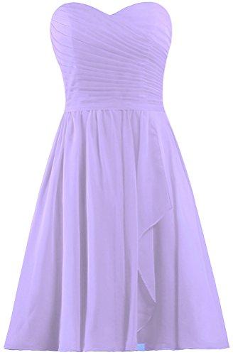 Lilac Wedding Dress - 6