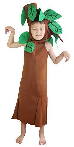 Petitebella Brown Tree Costume Unisex Children 4-14year (4-6year) ()