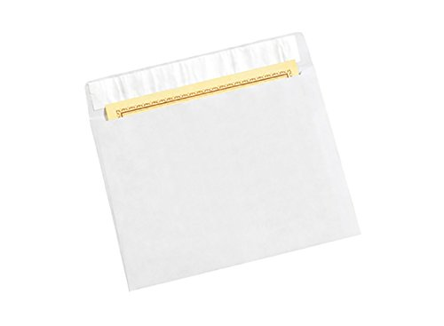 Open Side Mailers (RetailSource E120901TW50 Side Opening Flat Tyvek Envelopes, 12