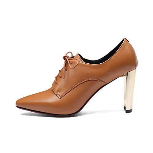 Talon Hauts Femmes Caramel carré Talons Bottines Chaussures rxrSTaw