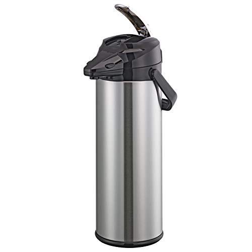 Service Ideas ENALG30S Airpot with Lever, Glass and Stainless Steel, NSF Listed, 3.0 L by Service Ideas (Image #2)
