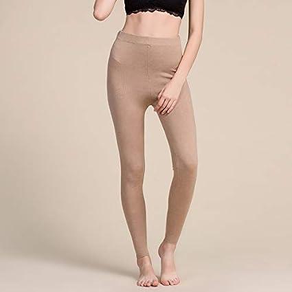 41eb7f09564 Amazon.com: Blue Stones Women Leggings 80% Silk 15% Cashmere 5% Spandex  Solid Slim Leggings Full Length Bottoming Pants Fall Winter New Black Gray:  Kitchen ...