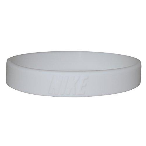 Nike 3D Wristband/Bracelet (White) (Nike Baller Wristband)