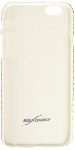 BoxWave Étui iPhone 6cas numérique Glitz Apple iPhone 6Coque–Coque fine avec un motif à paillettes–Apple iPhone 6et coques (Blanc)
