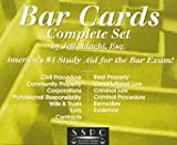 Bar Card Complete Set, Adachi, Jeffrey G., 1882278070