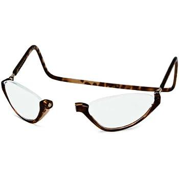 e690a36d640 Amazon.com  Clic Sonoma Single Vision Half Frame Designer Reading ...
