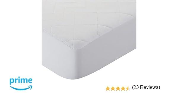 Pikolin Home - Protector de colchón acolchado cubre colchón para cuna, antialérgico, antiácaros, antibacterias y antimoho, impermeable y transpirable, ...