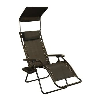 Amazon Com Bliss Hammocks Zero Gravity Chair With Canopy