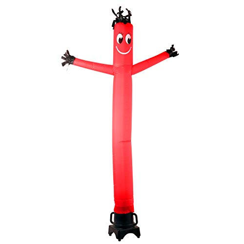 MOUNTO 8FT Fly Puppet Dancer with 1/3hp Blower Complete Set (RED)