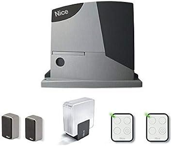 Nice RB400KCE - Kit de automatización para Puerta corredera, 400 kg dfm: Amazon.es: Bricolaje y herramientas