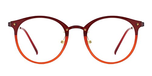 Tijn Vintage Optical Eyewear Non Prescription Eyeglasses Frame With Clear Lenses  L  50 22 145