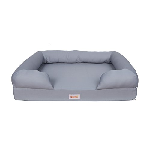 Qpets Memory Foam Dog Bed (Small) Ultimate Dog Lounge. Replacement Covers Available