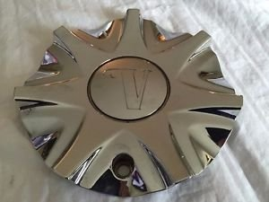 Velocity 750 Wheel Center Cap CS376-1P NEW Chrome Rim MIddle