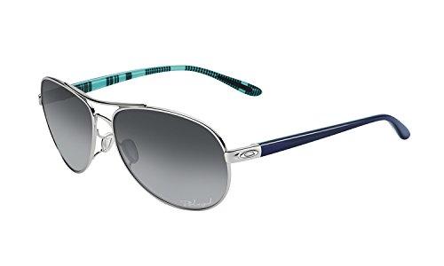 Oakley Feedback Polarized Aviator Sunglasses,Polished Chrome,59 - Hut Oakley Sunglass Aviators